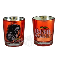 Bob Marley Smile Orange Votive Candle