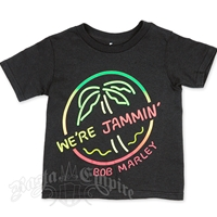 Bob Marley We're Jammin Black T-Shirts - Toddler
