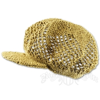 Hemp Crochet Applejack Hat