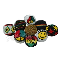 Hackysack - Assorted Rasta Designs