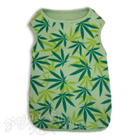 Leaf Doggie Tee - Green