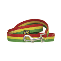 Rasta Stripe Dog Leash