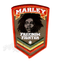Bob Marley Freedom Fighter Patch