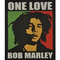 Bob Marley One Love Fleece Throw
