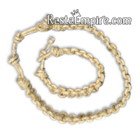 Fatty Hemp Choker and Bracelet - Jewelry Set