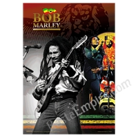 Bob Marley and Selassie Lenticular Style Poster 18.50