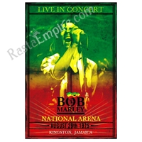 Bob Marley Live in Concert Flying Dreads Poster 24
