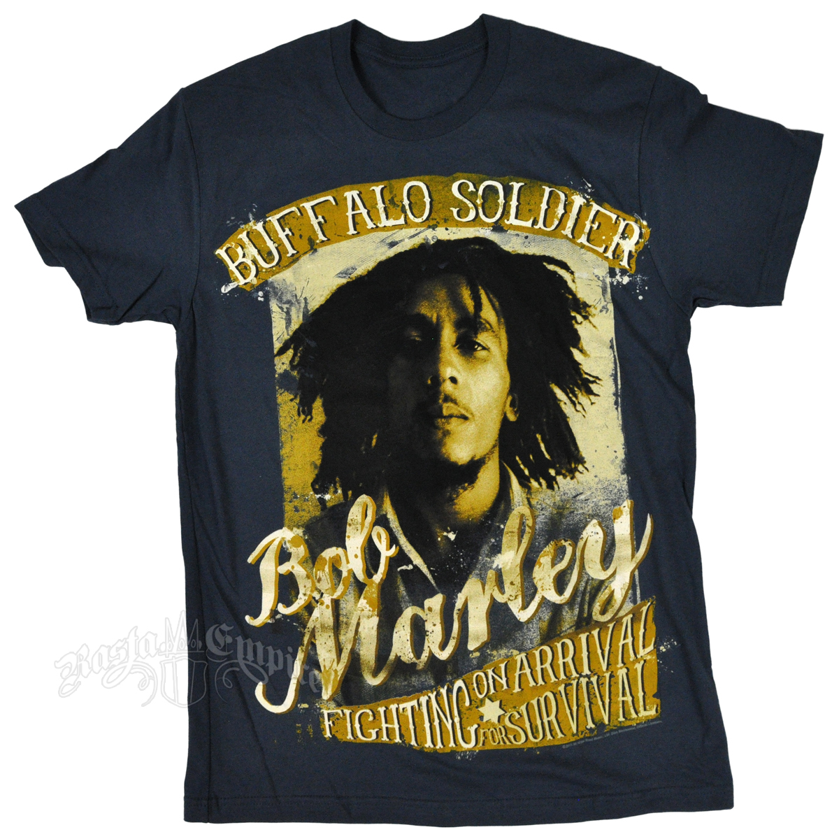 Bob Marley Buffalo Soldier Fighting for Survival T-Shirt ...