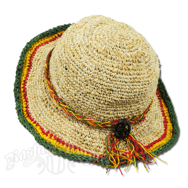 Rasta Hemp Peace Tour Hat e64bde64225e