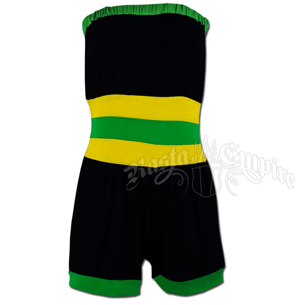 Jamaican Tube Top Romper