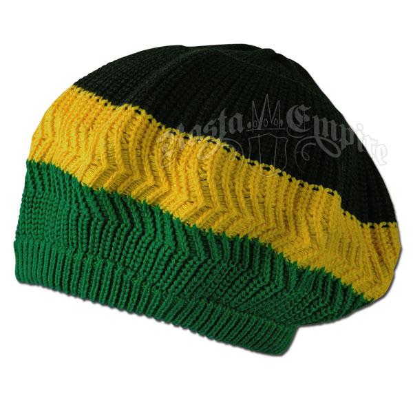 Jamaica Wide Stripe Tam @ RastaEmpire.com