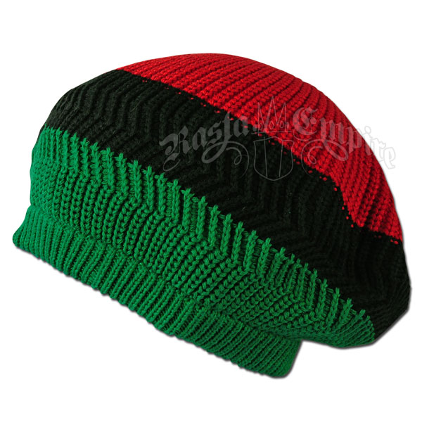 Green, Black and Red Tam