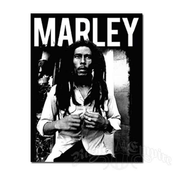 Bob Marley BW Fleece Throw