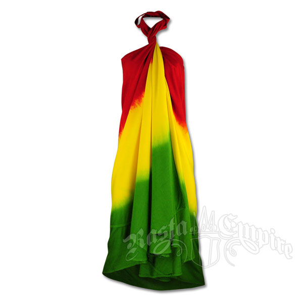 Rasta Mini Dress - Reggae Dress - Women's Rasta Clothing @ R