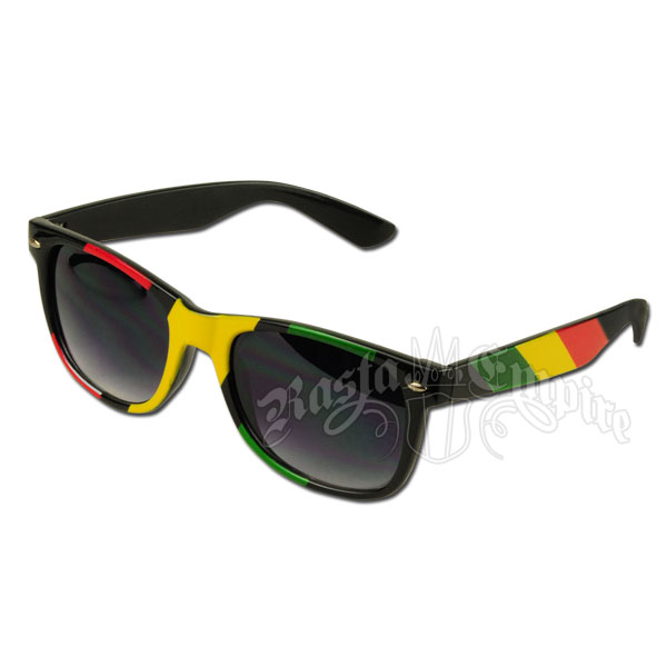 f753156744 Rasta Rayban Style Sunglasses - Black   Ratsaempire.com