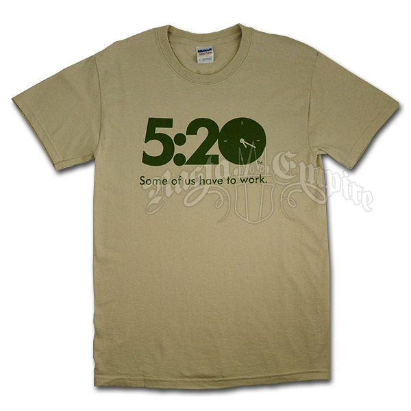 It's 5:20 T-Shirt wholesale