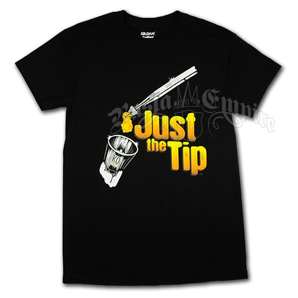 just the tip resin black t shirt men 39 s