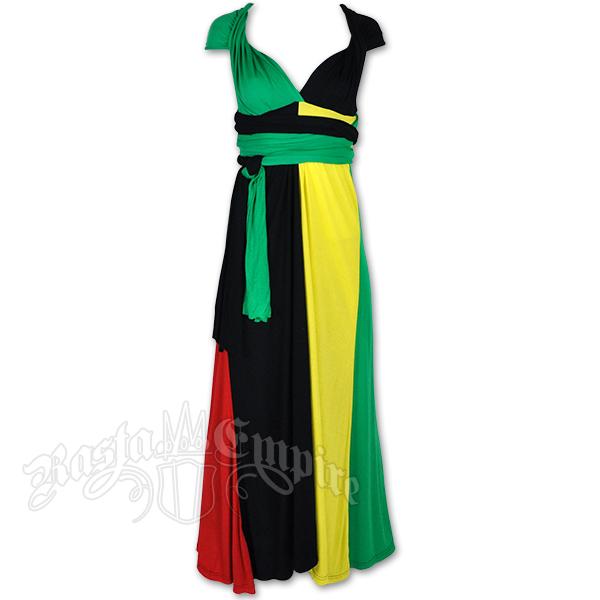New Sexy Rasta Ladies Tunic Top Empress Jamaica Reggae Fishnet