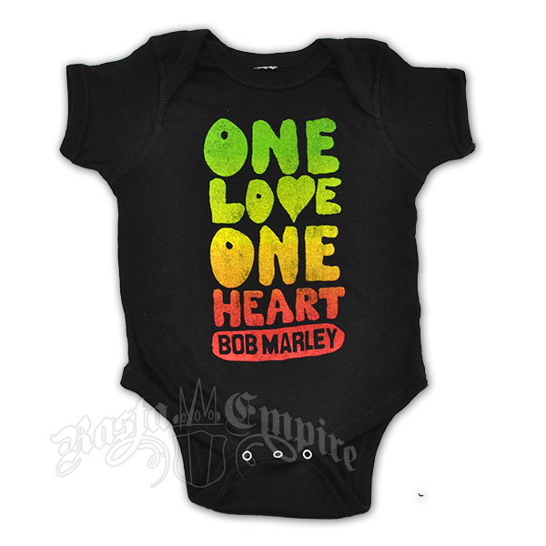 Bob Marley One Love One Heart Creeper - Black