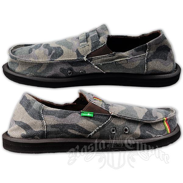 sanuk kingston camo canvas shoes rastaempire