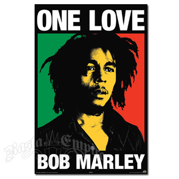 "Bob Marley One Love Poster 30"" x 40"""