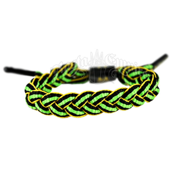 Jamaican Braided Cortes Bracelet