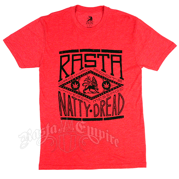 Red Rasta Natty Dread T-Shirt – Men's