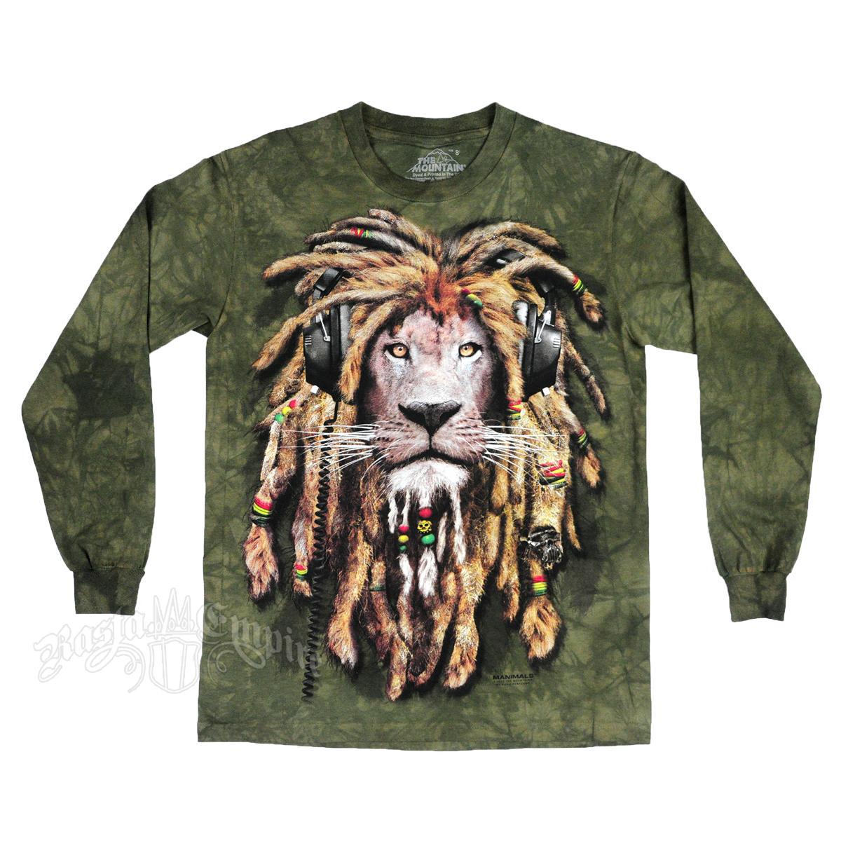 New Men's Bob Marley, Reggae, Rasta Long Sleeve Shirts | RastaEmpire.com FA21