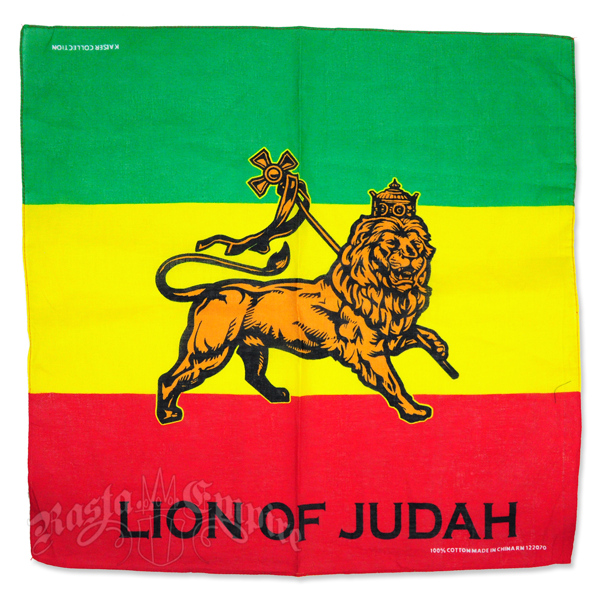 Lion Of Judah Bandana @ RastaEmpire.com Conquering Lion Of Judah