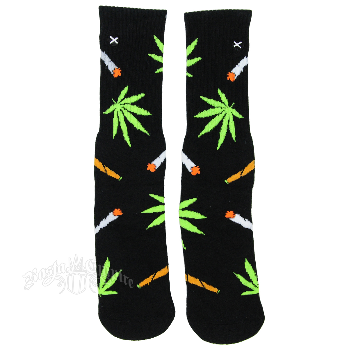 Leaf & Joint Pattern Socks