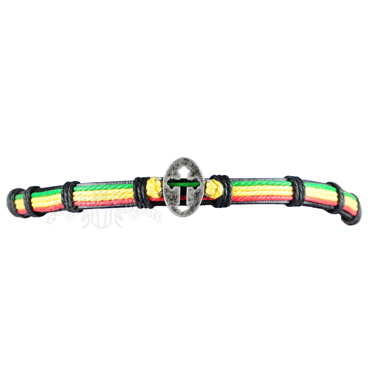 Rasta Cross Choker