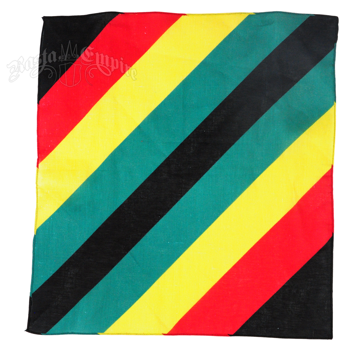 Rasta reggae striped bandana