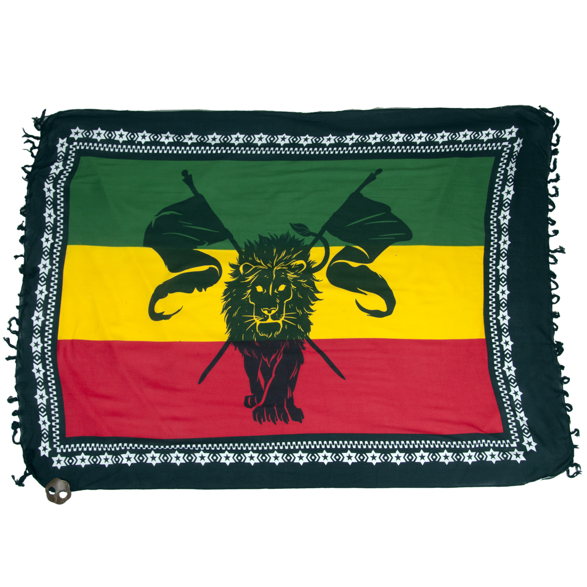 Rasta flag lion tapestry