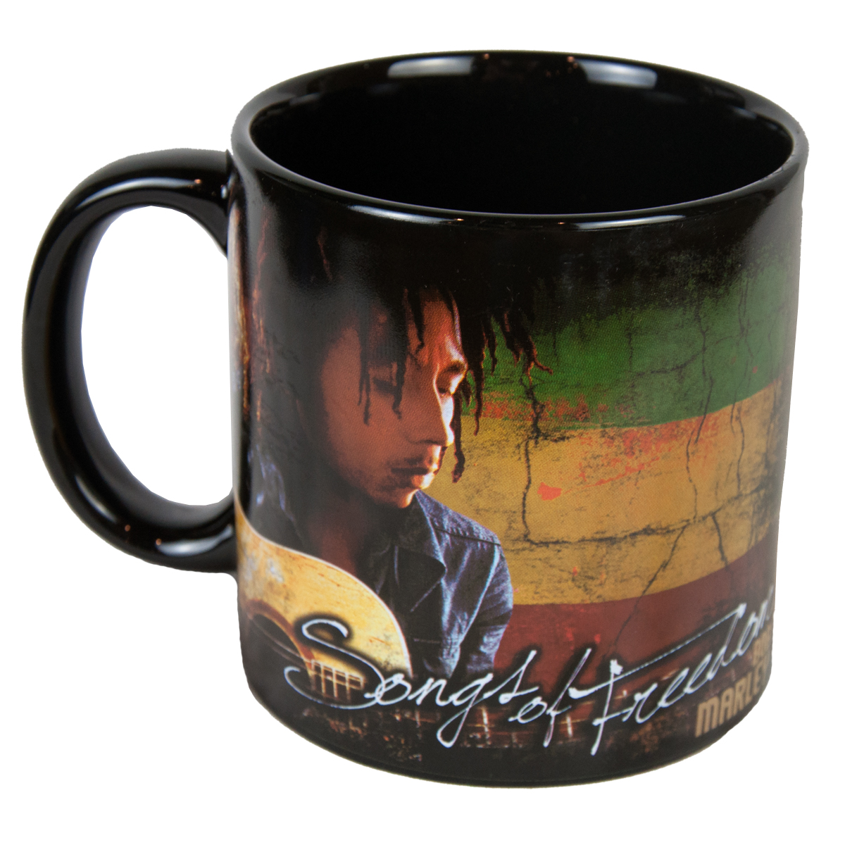 Bob Marley Song of Freedom Jumbo Ceramic Mug