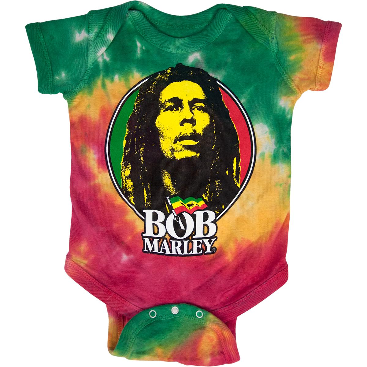 70d16f70ef68 Bob Marley Logo Tie Dye Creeper