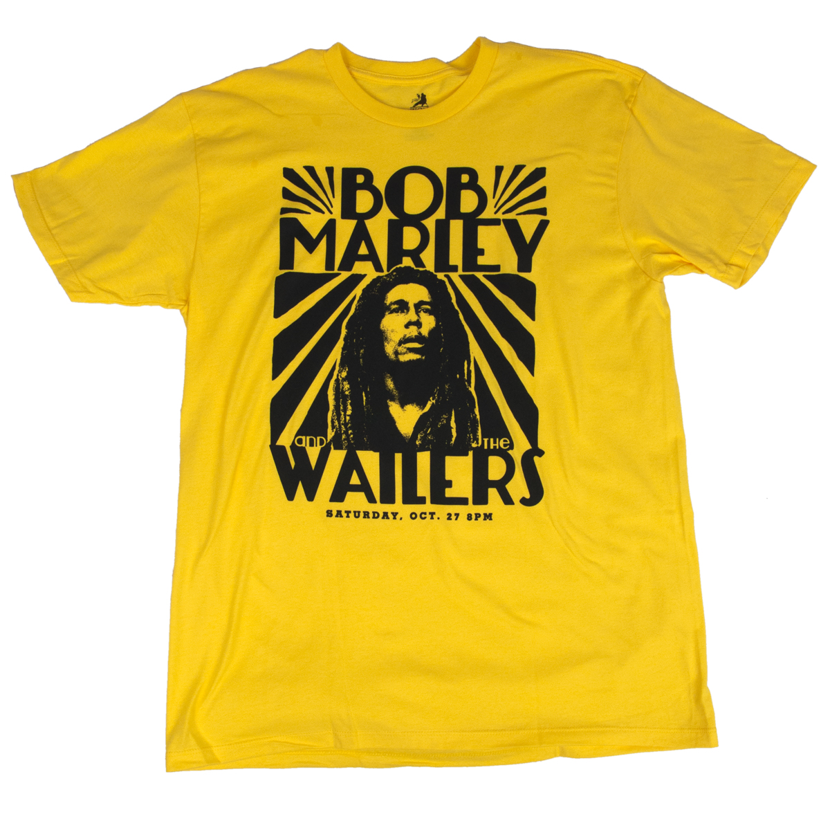 Bob Marley T Shirts Tee 1 Tshirt Kaos Raglan And The Wailers Vintage Yellow Shirt Mens