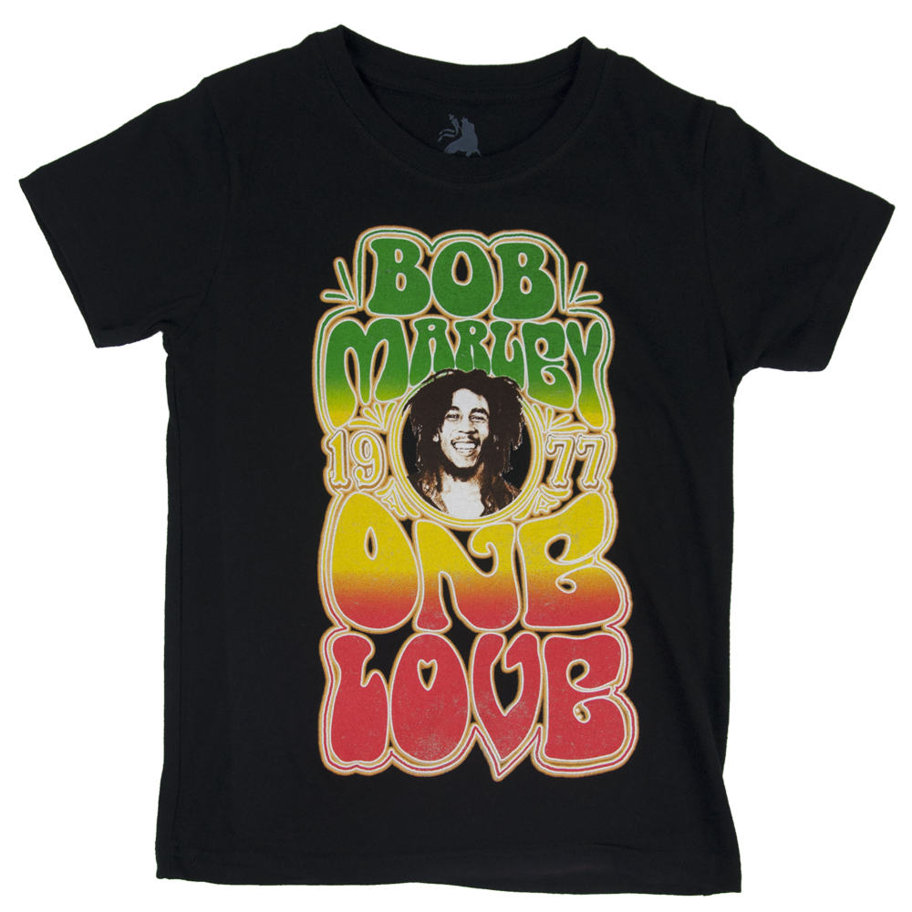 Bob Marley Groovy One Love Black T-Shirt – Youth