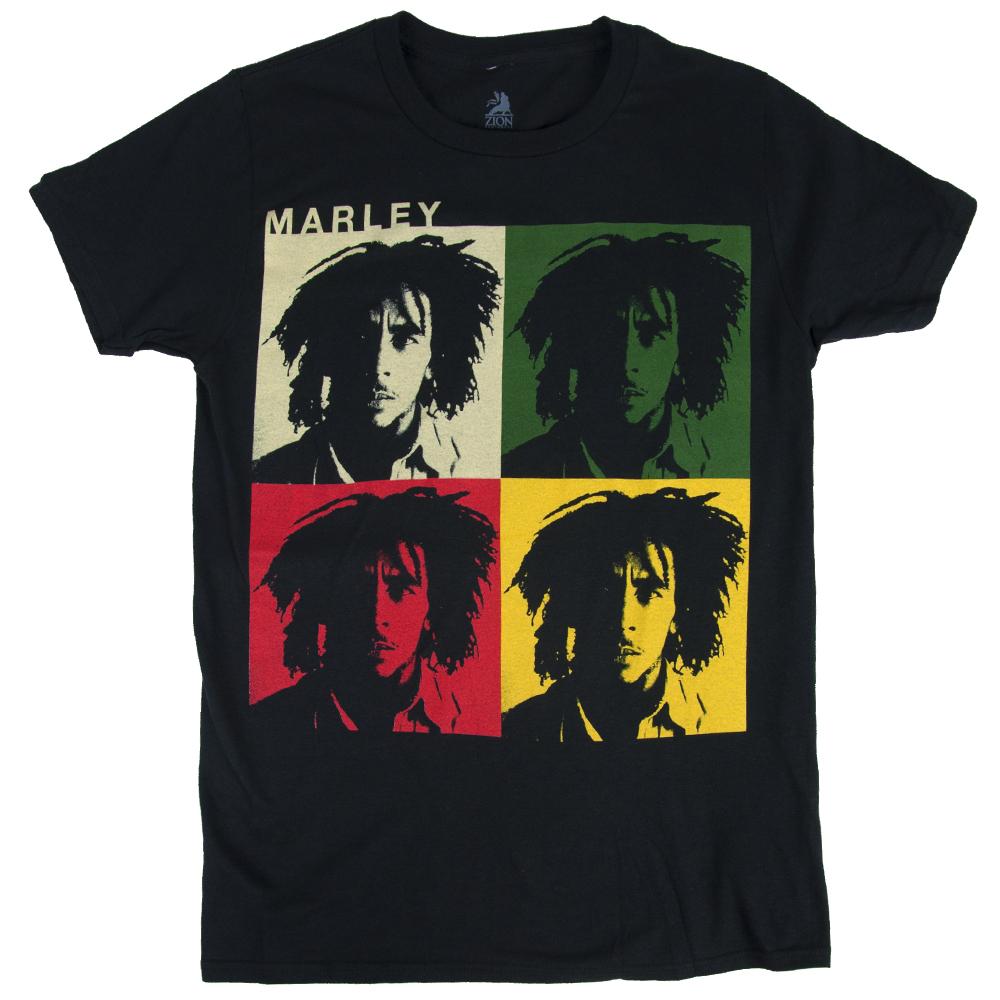 4d573fba45 Bob Marley Faces Black T-Shirt – Men's | RastaEmpire.com