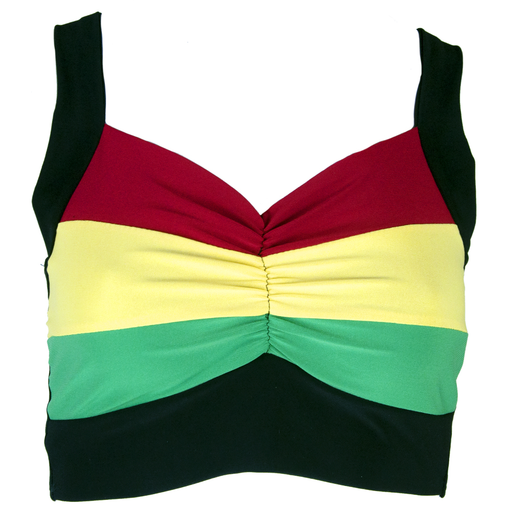 Rasta & Reggae Crop Top