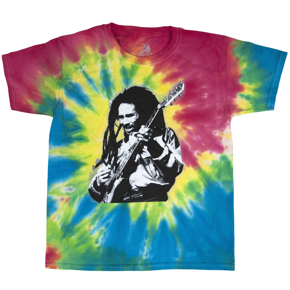 Bob Marley Live Tie-Dye T-Shirt - Youth
