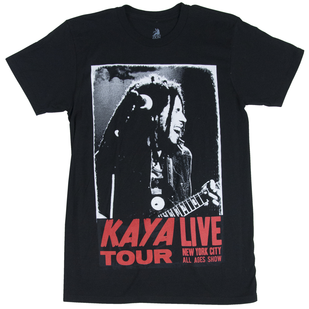 Bob Marley Kaya Live Black T-Shirt – Men's