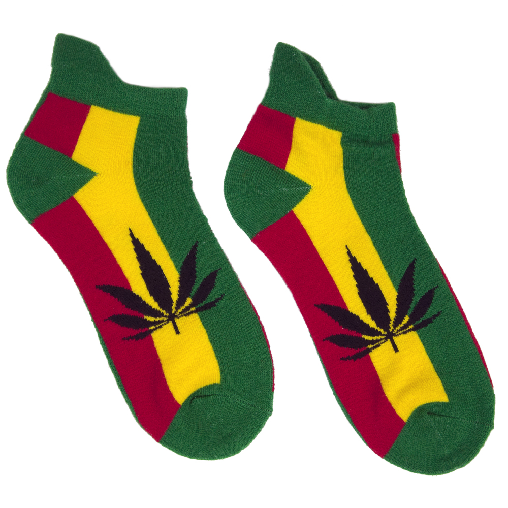 Natural Mystic Rasta Ankle Socks