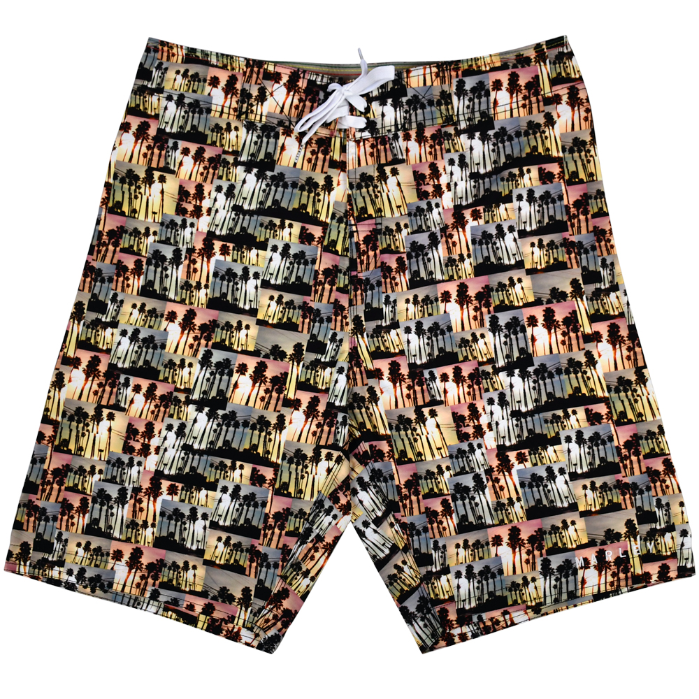 Bob Marley Apparel Tropical Rasta Collage Boardshorts - Men's