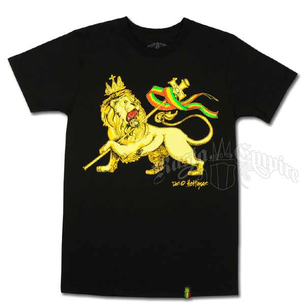 Conquering Lion of Judah Black T-Shirt - Men's