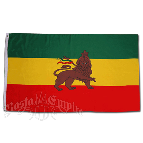 Rasta Lion Flag