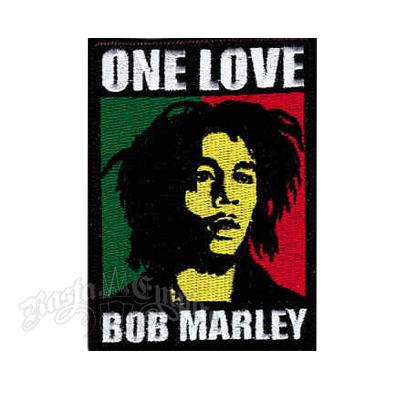 Bob Marley One Love Patch @ RastaEmpire.com