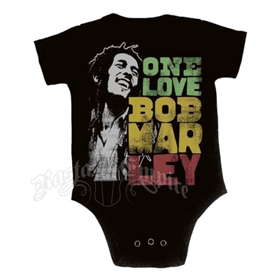 Bob Marley One Love Smile Creeper - Black