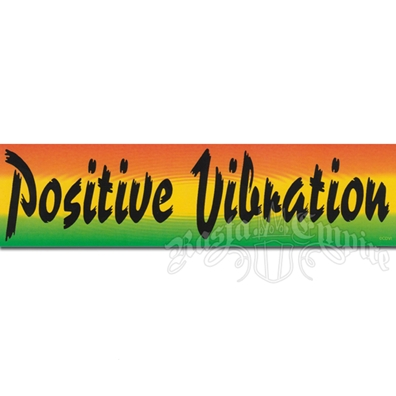 Positive Vibration Sticker
