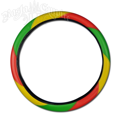 Rasta Steering Wheel Cover