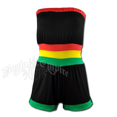 Rasta and Reggae Tube Jump Suit